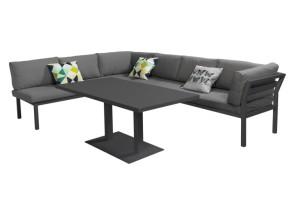 Tevreden met de loungeset met hoge tafel f l o n